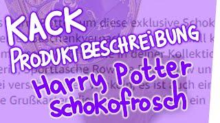 Kack Produktbeschreibung – Harry Potter Schokofrosch