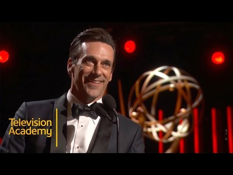 Emmys 2015 | Jon Hamm Wins Outstanding Lead Actor In A Drama Series