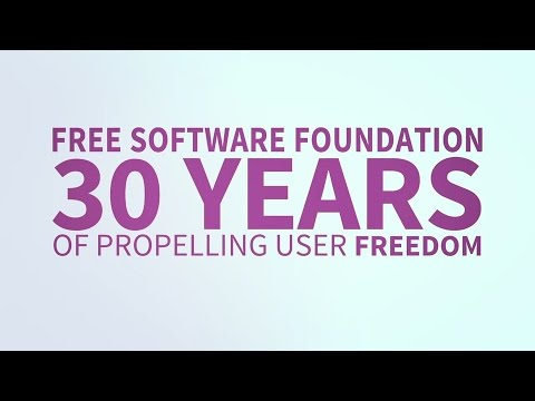 Free Software Foundation. 30 Years