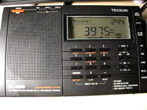 Azad Kashmir Radio 3975 kHz. 6.1.2012.