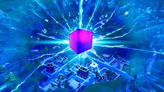 NEW FORTNITE UPDATE! NEW CUBE DESTROYS TITLED TOWERS IN FORTNITE! (FORTNITE BATTLE ROYALE)