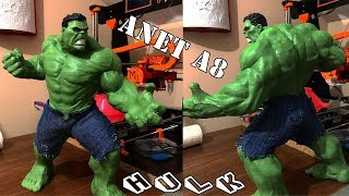 3D Yazıcı ile Hulk Figürü Yapımı Orjinal Kot Pantolonlu :)| Anet A8