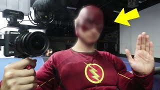 FLASH TOOK MY CAMERA AND RECORDED ME!! (HE CAME AFTER US)