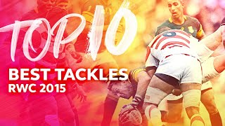 NO ENTRY ⛔️ Best Tackles from Rugby World Cup 2015