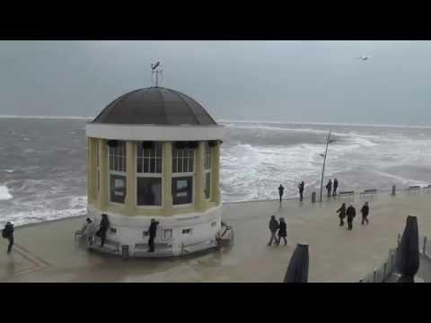 Sturmflut auf Borkum