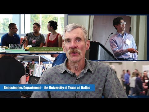 Geosciences Department -  The University Of Texas At  Dallas