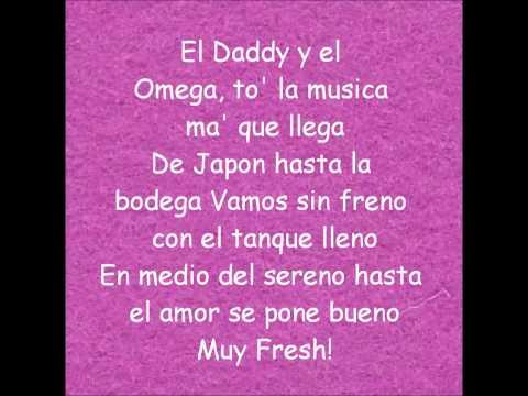 Estrellita de madrugada - Daddy Yankee ft. Omega El Fuerte (Lyrics - Letra Official) (HD)
