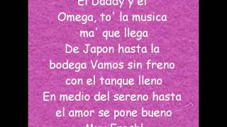 Estrellita de madrugada - Daddy Yankee ft. Omega El Fuerte (Lyrics - Letra Official) (HD)