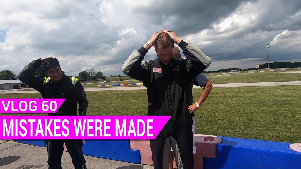 Kart Vlog 60- Mistakes Were Made | Briggs LO206 Racing
