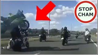 Wypadek trzech motocyklistów na Trasie Popiełuszki w Płocku - 1.08.2020 #488 Wasze Filmy