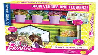 Thames and Kosmos Barbie Plant Science Experiment Kit Review