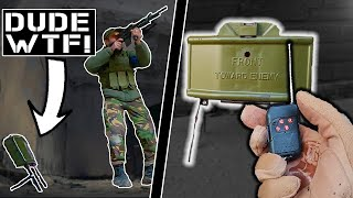 Remote CLAYMORE Scares The $&*% out of Players (Unfair Advantage)