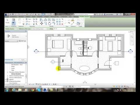 Revit 06-37 Creating a Section View