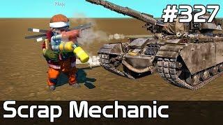 Scrap Mechanic Po Polsku [#327] DZIAŁKA w Scrap! AKTUALIZACJA! Budujemy CZOŁG? /z Plaga
