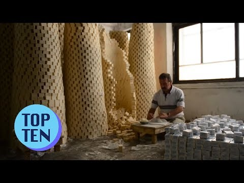 Top 10 Fast Workers & Master Craftsmen