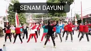 Senam DAYUNI Kreasi Coach Bravo Olahraga Cisauk @ Lap Blok G. GSA @