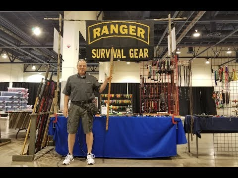 Survival Walking Stick designed by (Retired) U.S. Army Col. Jim Callahan
