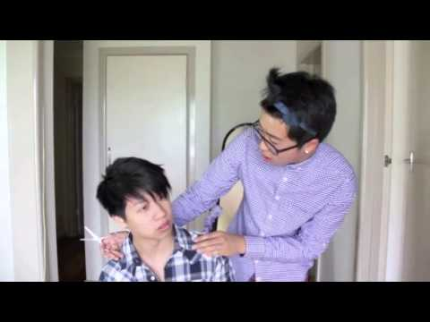 YOU NEED HAIRCUT!   Asian Hairdresser