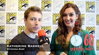60 Seconds with Katherine Barrell, Round Two