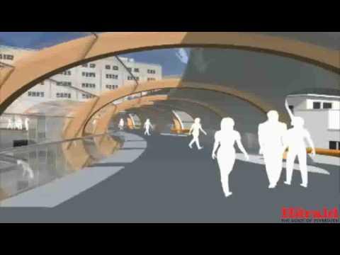 Derriford Hospital's proposed new entrance