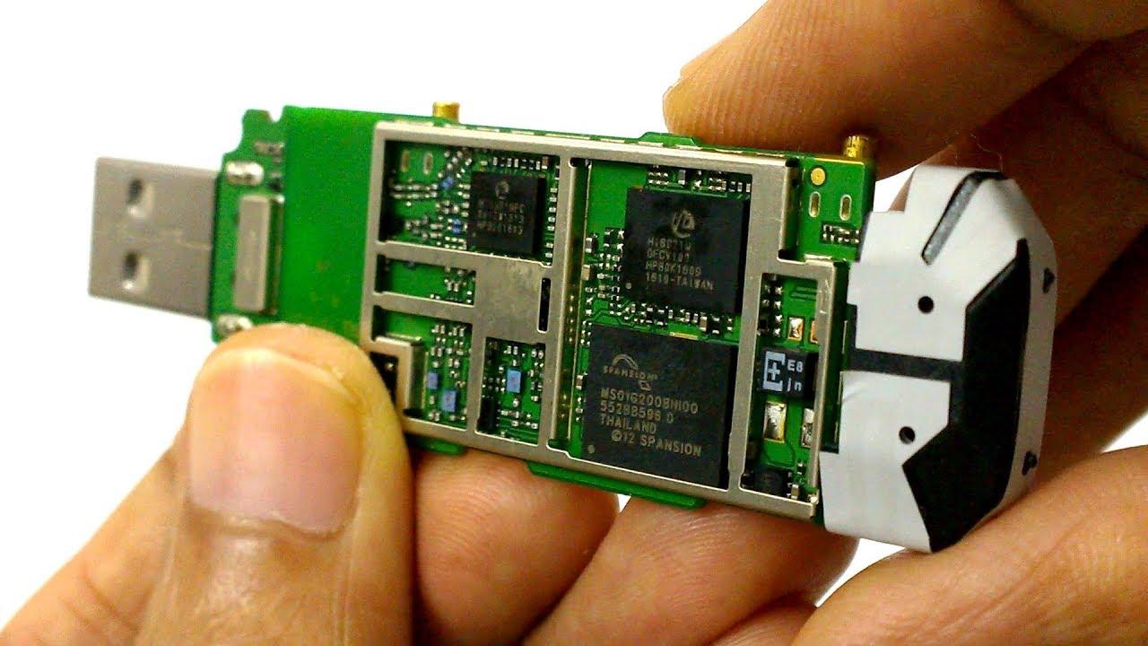 Huawei 4G Datacard USB modem E3372 Disassembly- Part 2