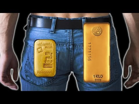 Dude Arrested With 1 KG Of GOLD Hidden Up His Rear!