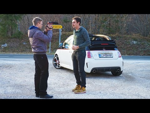 How we filmed my Abarth review? (behind the scenes)