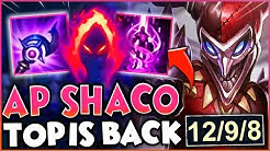 AP SHACO TOP IS BACK WITH THIS NEW BUILD! CHALLENGER PINK WARD?!