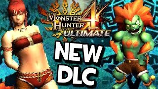 Monster Hunter 4 Ultimate NO CLOTHES DLC! Metroid, Street Fighter, Megaman & More