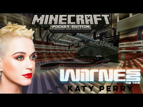 Katy Perry - Witness: The Tour 👁 (Minecraft)