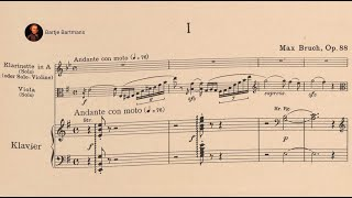 Max Bruch - Concerto for Clarinet & Viola, Op. 88