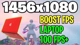 Best Fortnite Stretch ResoĮution for Laptop MAX FPS & Less Delay! (200+ FPS on Laptop)