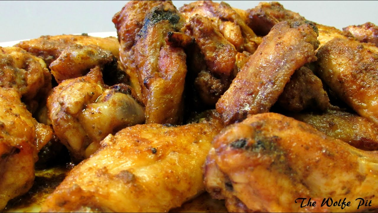 Old Bay Chicken Wings - Chicken Wing Recipe - YouTube