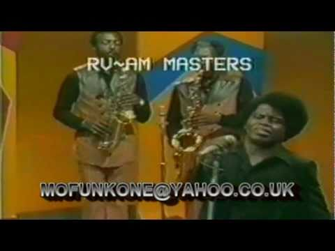 JAMES BROWN, BOBBY BYRD & THE J.B.'S - GET INVOLVED/SOUL POWER.LIVE TV PERFORMANCE 1971