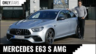 The Mercedes-AMG E63 S is loud, powerful and super silent at the same time! REVIEW E 63 AMG 2021