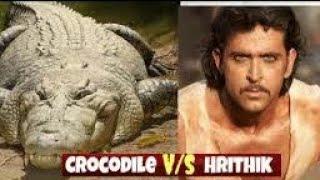 Mohenjo Daro.movie clips.Hrithik Roshan vs Crocodile.2016.