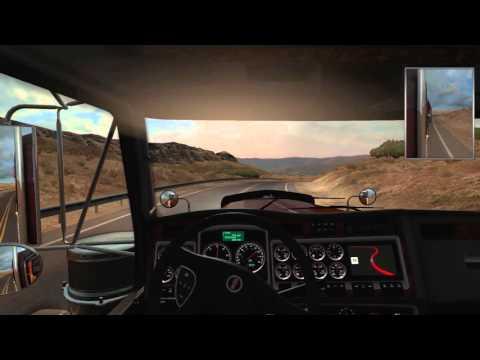American Truck Simulator - Calcite from Carson City (NV) to Oxnard (CA)