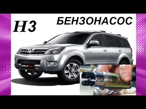 БЕНЗОНАСОС ХОВЕР 3. Hover H3, ПРОВЕРКА РАБОТЫ. ЛЮК. И ЗАМЕНА НА