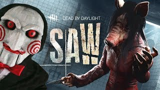 SAW MOVIE DLC!! (Dead by Daylight, the Saw Chapter DLC)