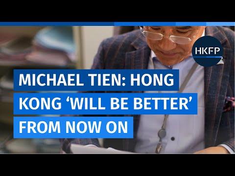 Lawmaker Michael Tien: Hongkongers should have accepted 2014 election reform