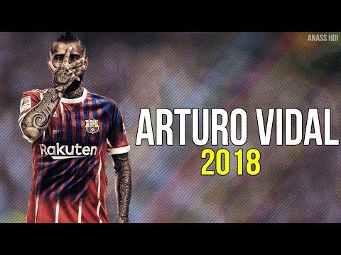 Arturo Vidal 2018 ● WELCOME TO FC BARCELONA [OFFICIEL]