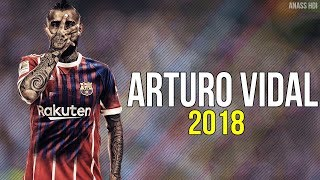 Arturo Vidal 2018 ● WELCOME TO FC BARCELONA [OFFICIEL]