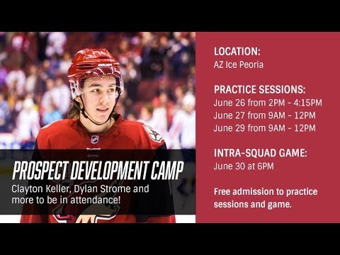 Coyotes Prospect Camp 2017 - Day 3 - Group 1