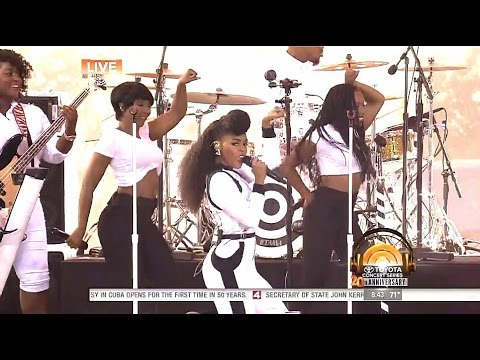 [HD] Janelle Monáe & Jidenna - Yoga - Today Show Summer Concert