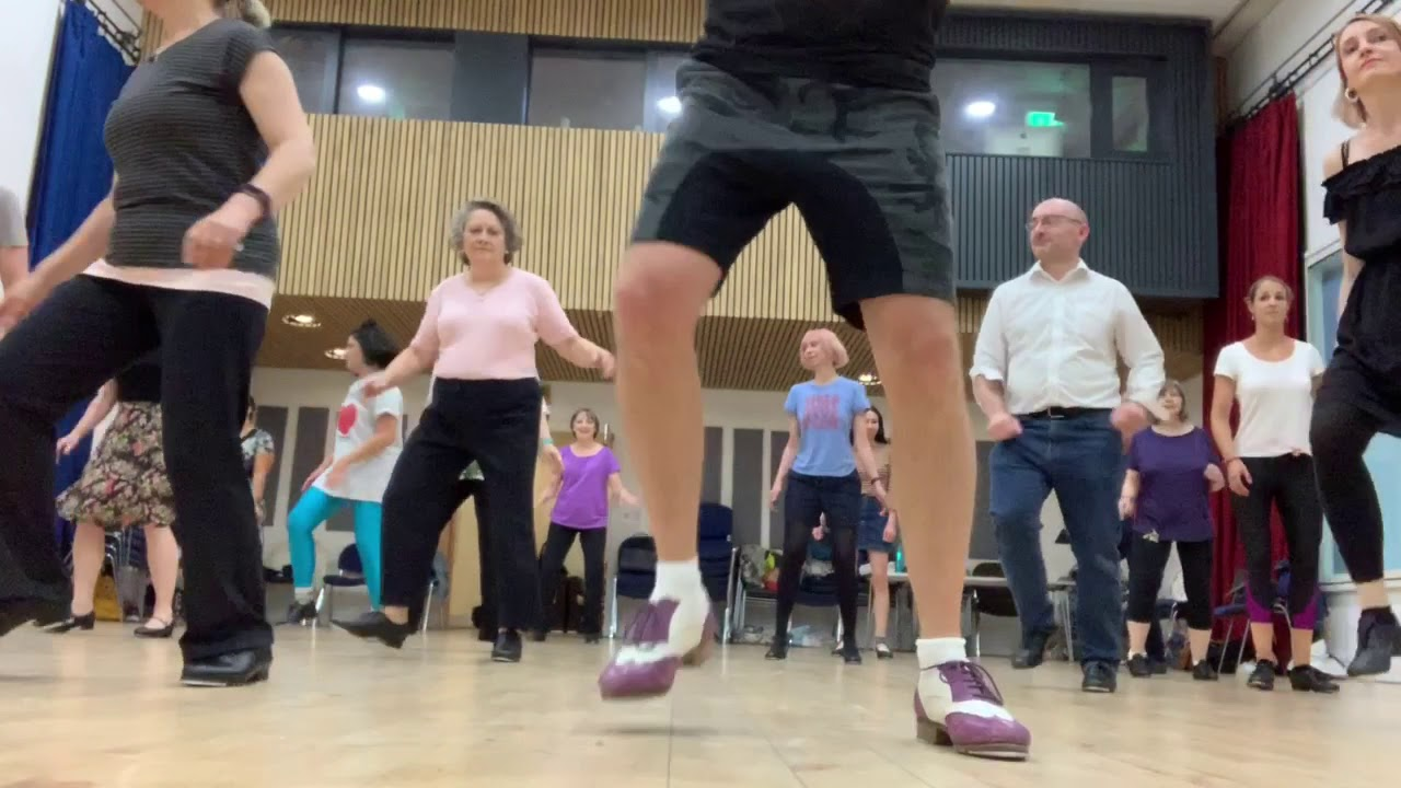 Adult Tap Beginners Warm Up