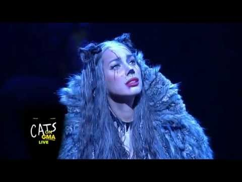Cats Broadway Cast Performs  Medley on GMA  Leona Lewis as Grizabella