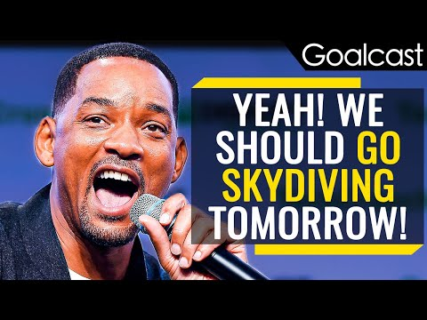 Here's What Lies on the Other Side of Fear - Will Smith | Goalcast