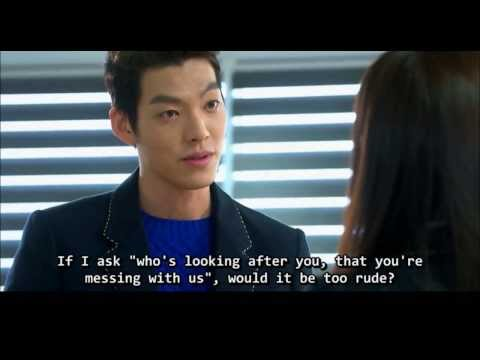 [The Heirs 상속자들] 나쁜남 영도 은상 Youngdo to Eunsang [Bad boy bully collection] 김우빈