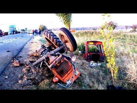 Трактористы от бога 80 уровня дебилы авария