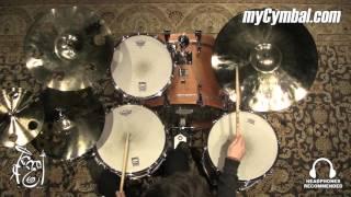 sabian 20 hhx evolution ride cymbal brilliant 2399g played by shawn zorn 12012xeb 1121715q